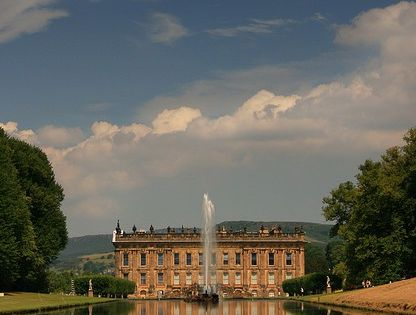 Looks like my dream house...out of my dreams. - Chatsworth House, England,
