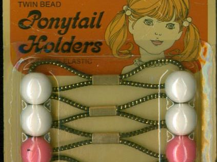 Ponytail holders. I remember these when I was a little girl!!