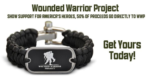 wounded warrior project bracelet