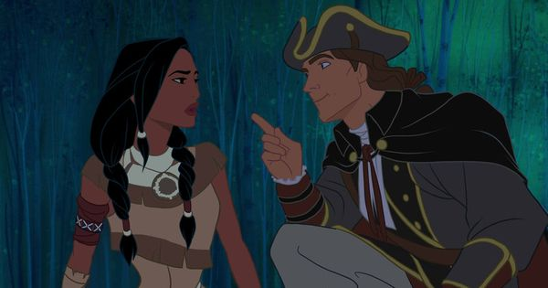 Pocahontas in the Assassin's Creed universe. Truth be told, the outfits are