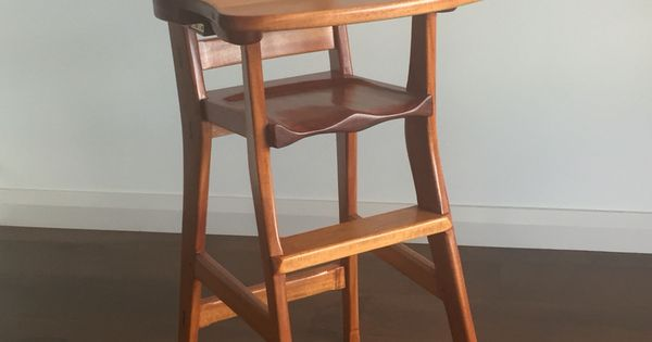 Mahogany High Chair Interesting Wood Work Projects