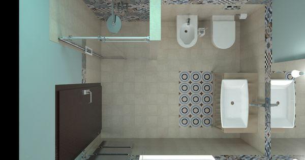 Bagno con cementine cerca con google bagno pinterest - Cementine bagno ...