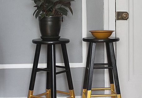 Black Amp Gold Bar Stools Dresser Amp Rug Gold Bar Stools