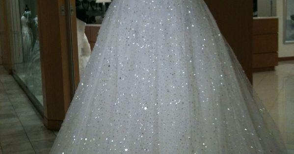 Blinged out wedding dresses wedding dress pinterest for Blinged out wedding dress