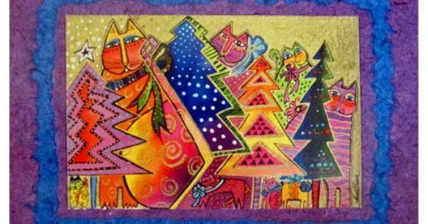 ... Burch Christmas Cards Festive Season 10 Card Box C73302 $9.95