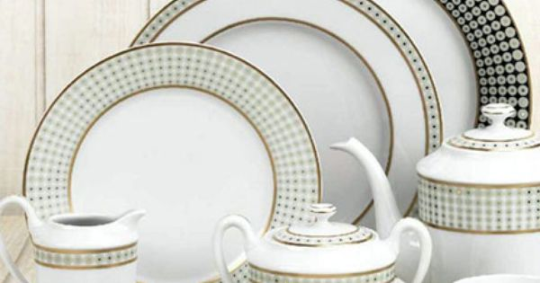 Royal Limoges Galaxie Dinnerware Contemporary Dinnerware Royal