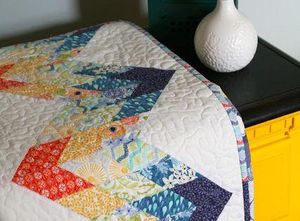Free Pattern Sunnyside Diamond Zig Zag Quilt By Janice