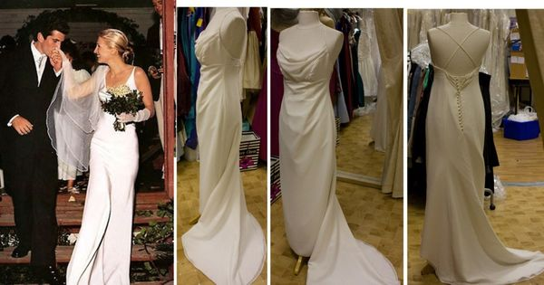 Carolyn Bessette Kennedy Wedding Dress Vintage Wedding