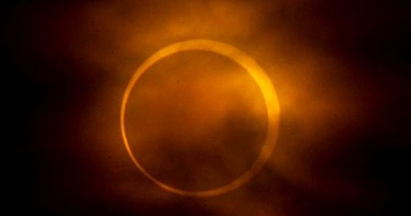 Beautiful solar eclipse 20/05/12