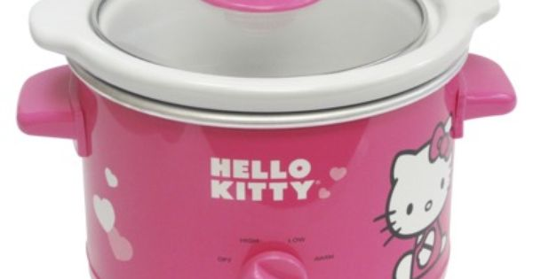 Target Hello Kitty Slow Cooker 29 99 I Wonder If This