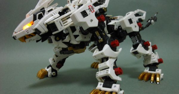 hmm zoids 1 72 rz 041 liger zero painted build w full leds photoreview no 10 big size images robot design liger gundam