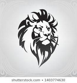 Lion Head  Tee Men/'s Sketch Image by Shutterstock