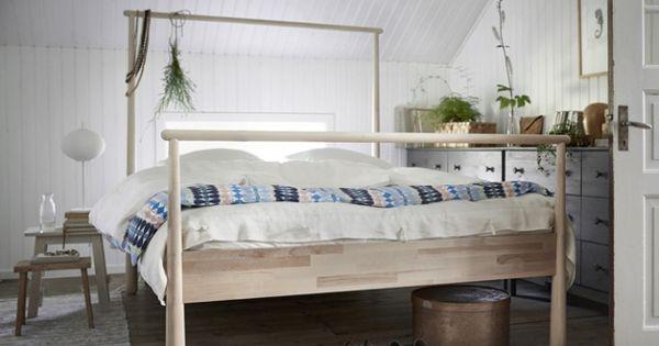 lit baldaquin moderne ikeaddict pinterest bedrooms and ikea. Black Bedroom Furniture Sets. Home Design Ideas