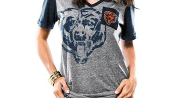 Women's Indianapolis Colts Nike Royal Team Stripe Tri-Blend V-Neck T-Shirt