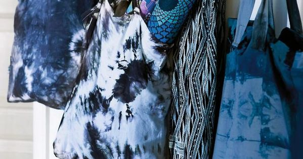 la maison d 39 anna g tie dye shibori batik et tie and dye pinterest anna la maison et maisons. Black Bedroom Furniture Sets. Home Design Ideas