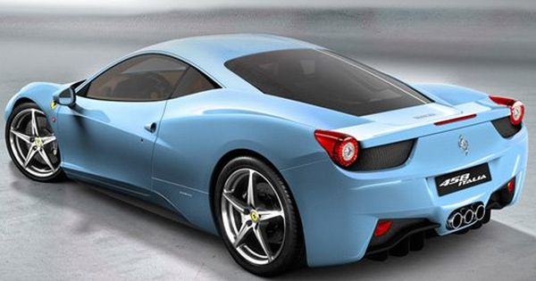 Powder Blue Turbo Lotus Italia