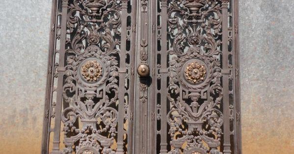 Restoration Of Decorative Cast