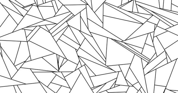 Tessellation Coloring Pages Pdf : Broken glass tessellation coloring page free printable for