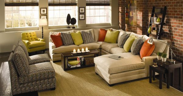 Margo Extra Wide Sectional Sofa By Sam Moore Knoxville Wholesale Furniture Sofa Sectional