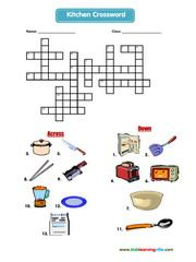 Crossword Esl Efl Vocabulary Worksheets