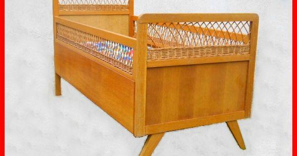 Lit d 39 enfant vintage annees 60 meubles design vintage scandinave art d - Lit scandinave vintage ...