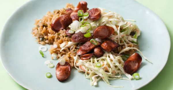 Kielbasa, Rice bowls and Kidney beans on Pinterest