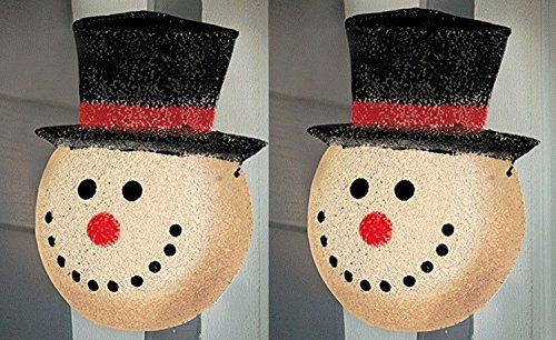 Snowman Holiday Porch Light Cover 2 Pack Holiday Decor Https Www Amazon Com Dp B01lybk15k Ref Cm Sw R Pi Dp X Cdiaabawkfbem Navidad Arte Inc