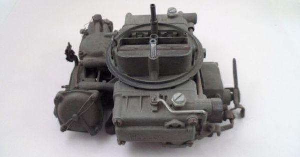 Vintage Holley 366 Carburetor w/ Governor - 1966 Van ...
