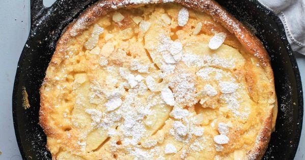 apple pancake aus dem ofen rezept f r pfannkuchen mit pfeln puffed pancake dutch baby. Black Bedroom Furniture Sets. Home Design Ideas