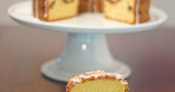 Cinnamon Streusel Bundt Cake Starts With Duncan Hines
