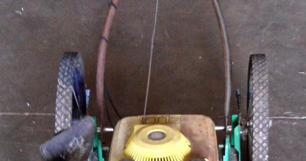Green Meijer Brand Push Lawn Mower Auction Items