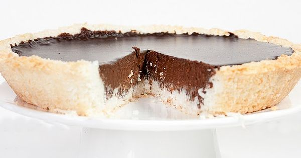 Coconut Chocolate Pie - paleo glutenfree