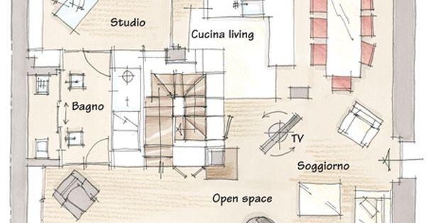 Ristrutturazione di un appartamento nel centro storico di