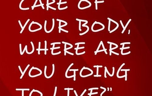 True! Take care of your body! Need help with your fitness goals?