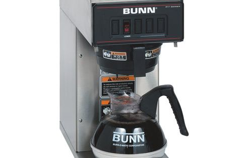 BUNN 13300.0001 VP17-1SS Pourover Coffee Brewer with 1 Warmer, Stainless Steel - http://www ...