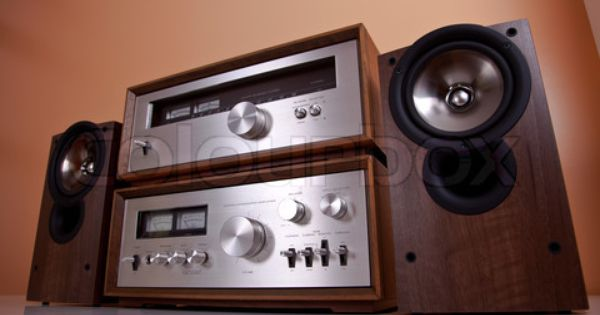 Classic Vintage Hi Fi Stereo Amplifier Tuner Speakers In Wooden Cabinets The Real Good Quality Style Http About Me Samissomar Ideias