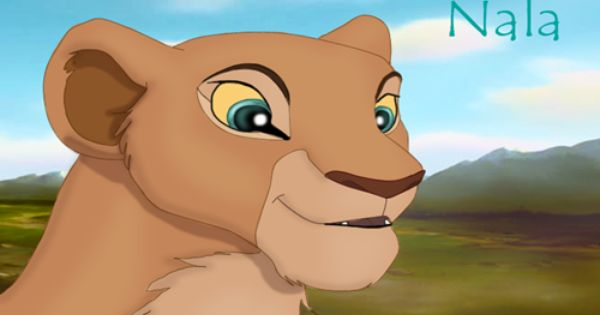 nala  my second favorite lion king character  my favorite