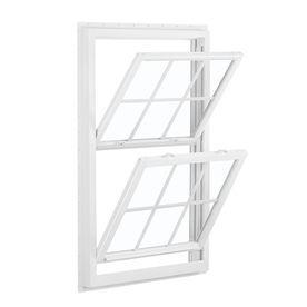 Reliabilt 455 Vinyl Double Pane Single Strength New Construction Double Hung Window 36 In 36 In 719801225863455dh Reliabilt Double Hung Windows Double Hung