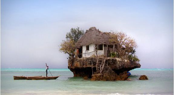 a restaurant in the ocean. why not?