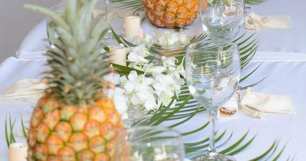 8 belles raisons de se marier sur le th me hawa en - Deco table printempsidees belles et rafraichissantes ...