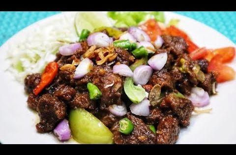Resep Sate Goreng Daging Sapi Youtube Makanan Dan Minuman Makanan Daging Sapi