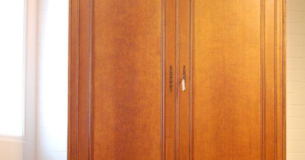 Franse louis philippe kast antieke en brocante kasten pinterest - Antieke stijl badkamer kast ...
