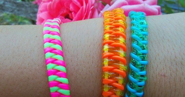 Du néon aux poignets, ou comment faire ses propres bracelets ? {DIY