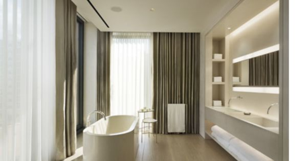 John Pawson s design of Ian Schrager s master bathroom at 40 Bond Street   NY  GISSLER  interiordesign   John Pawson   Pinterest   Vanities. John Pawson s design of Ian Schrager s master bathroom at 40 Bond