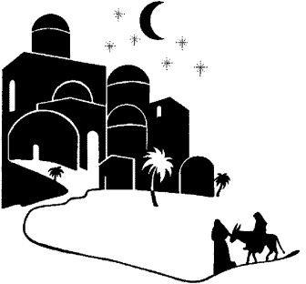 Christian Clip Art Silhouette Christmas Christmas In Egypt Nativity Silhouette