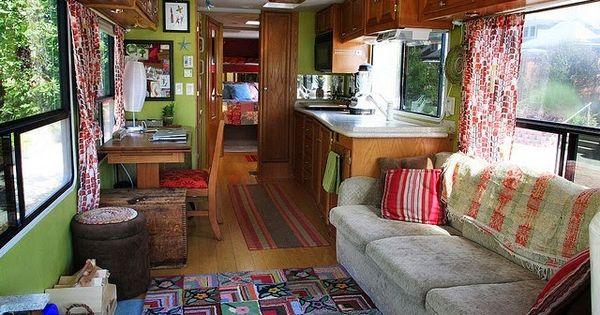 La maison boheme bus home pinterest d coration style - Appartement decoration design glamour vuong ...