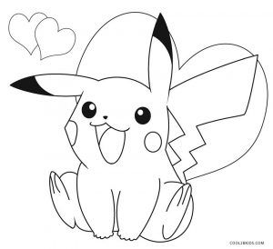 Free Printable Pikachu Coloring Pages For Kids Pikachu Coloring Page Pokemon Coloring Sheets Pokemon Coloring