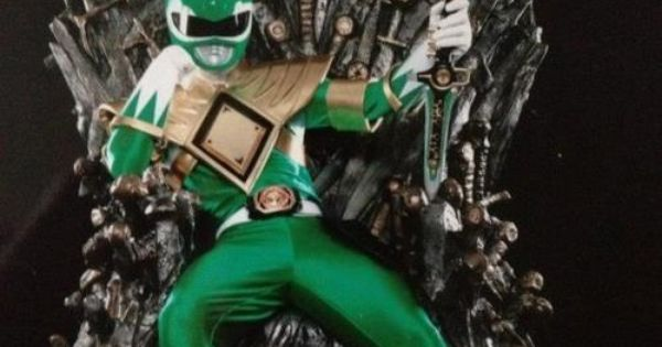 Super Mario Game Of Thrones Crossover Iron Throne: Green Ranger Of Thrones