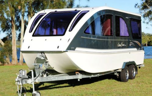 Caraboat 7500 An All In One Travel Trailer Boat And