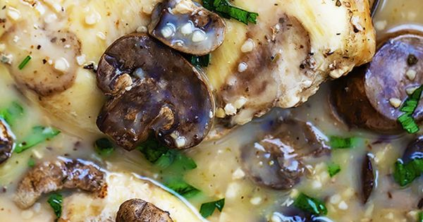 Slow cooker chicken marsala, Chicken marsala and Slow cooker chicken ...